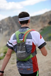Micah at speedgoat with the Alpha as his running gear or choice