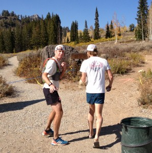 Ultra running Gear - Ty Draney sporting the Alpha