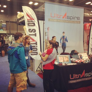 The Running Event Ultraspire Booth