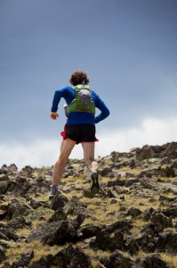 Bryce Thatcher training in the Ultraspire Zygos.  The latest in race vest technology.