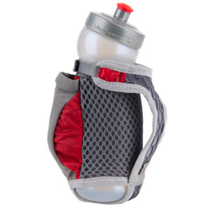 Red Isomeric Pocket with UltrAspire's extremely soft Human bottle.