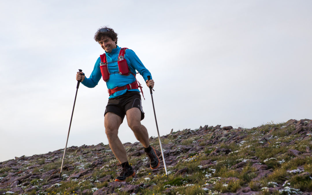 How to Run with Trekking Poles.. The Benefits of Using the Right Tools